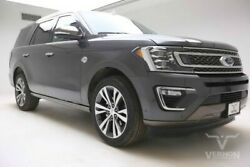 2020 Ford Expedition  2020 Navigation Heated Leather Bluetooth Camera V6 Ecoboost Vernon Auto Group