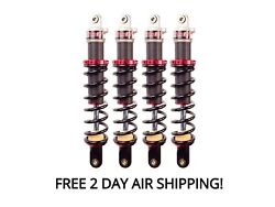 Elka Stage 1 Front And Rear Shocks Suspension Kit Yamaha Grizzly 700 2014-2015