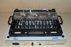 Everett Charles Ect Superkit Smt In-circuit Board Machine / Station -gold Scrap