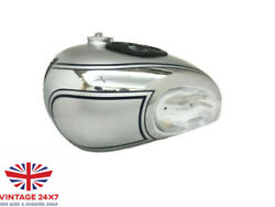 Triumph Speed T90 5t Twin Chrome And Silver With Blue Lines |fit For