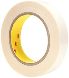 3m Double Coated Tape 444pc Clear, 1 In X 36 Yd 3.9 Mil, 36 Rolls Per Case