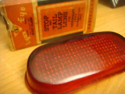 1940 Chevy Chevrolet Rh Or Lh Stop And Tail Lamp Lens Ruby Glass Made Usa