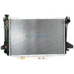 New Radiator Plastic And Aluminum Fits 1987-1997 Ford F-150 Fo3010135