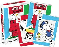 Peanuts Comic Strip Snoopy Comic Art Illustrated Playing Cards NEW SEALED
