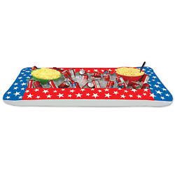 Inflatable Patriotic Buffet Cooler Pack Of 6
