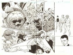 Blood Of The Demon 9 Pgs. 2 And 3 - Crazy Monsters Dps - 2006 Art By John Byrne
