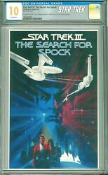 2018 Star Trek The Search For Spock Fr Ngc Cgc10 Cgc 10 - Mint Packaging Ogp