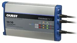 Guest 2720a Chargepro On-board Battery Charger 20a / 12v, 2 Bank, 120v Input