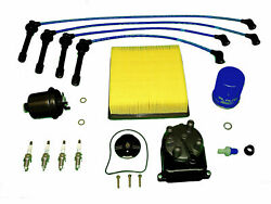 Tune Up Kit Fits Honda Civic Si 1999-2000 All Filters Cap Rotor Ngk Plugs And Wire