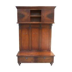 GuildMaster SCROLLED IRON HALL CABINET