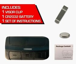 3-buttons Garage Door Remote Control Clicker With Intelligent Code Technology