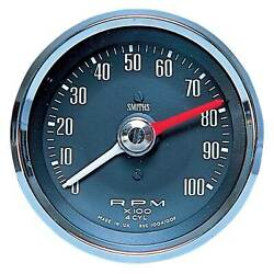 Smiths Motorsport Classic Tachometer With Adjustable Red Line 0-10000 Rpm