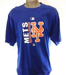 Mens Majestic New York Ny Mets Mlb Authentic Collection Baseball Tee T-shirt