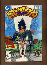 1987 Wonder Woman 3 Signed By George Perez W/coa 2nd Print 1st Decay