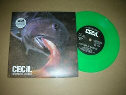 Cecil - Hostage In A Frock..uk.parlophone Ltd.edition Green 7 Vinyl 1997