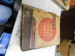 1948 - 1952 Ford Truck Chassis Master Teile Katalog Manuell W Teil Zahlen