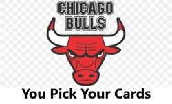 You Pick Your Cards - Chicago Bulls Team- Basketball Card Selection