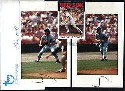 Wade Boggs Red Sox 1986 Topps Original Extra Photos 5x8 Vault Archives Pick