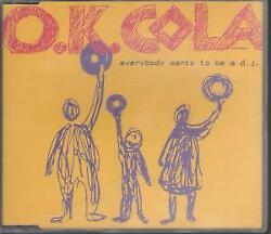 Ok Cola Everybody Wants To Be A Dj Cd Uk Invisible Hands 3 Track Radio Edit B/w