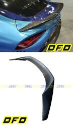 Tr Style Carbon Fiber Spoiler For Toyota A90 Supra Not Overlay