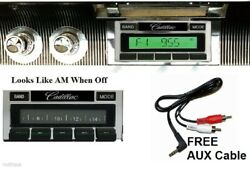 1961-1962 Cadillac Radio Aux Usb And Ipod Dock Stereo 630 Ii Free Aux Cable