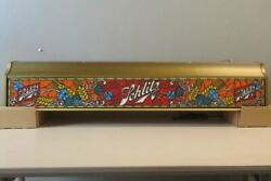 Schlitz Beer Hanging Light Faux Stained Glass Pool Table Style 4ft - Damaged