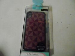 PHONE CASE BY EL LUMIERE FOR APPLE IPHONE 9 6.1 NEO LOUIS LEATHER METAL INSTAL $10.99