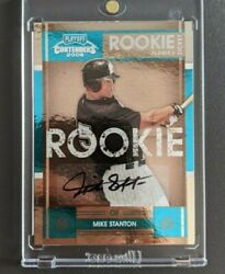 2008 Playoff Contenders Mike Giancarlo Stanton Auto Rookie 🔥 Ssp Only 149 Made