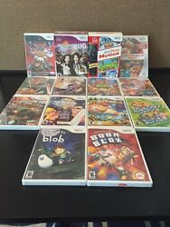 Lot Of 14 Nintendo Wii Kids Games + Motion Plus Controller +microphone Brand New