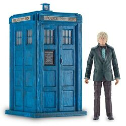 Doctor Who Classic Tardis Monster Of Peladon And 3rd Dr Figure Set - Uk Exclusive