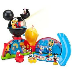 Deluxe Mickey Mouse Clubhouse Play Set - Brand New - 6 Figures Lights Sounds