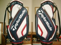 Tailor Made High Grade Molded Design Leather Popular Color Navy White Red Golf
