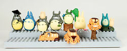 10 pcs My Neighbor Totoro Toy Figures Set Chibi Cat Cake Toppers Studio Ghibli $9.99