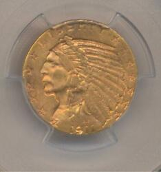 1911-s 5.00 900 Gold Indian   Pcgs Ms62   Philadelphia   Gold Coin   Cac Label