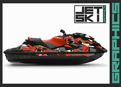 Seadoo Rxp Rxpx 300 260 2012-2020 Decals Set Graphics Kit Stickers Wrap Vinyl