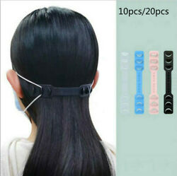 Non-slip Silicone Ear Hook Adjustable Buckle Extension Strap for Mask Hanging
