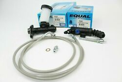 Exedy Slave Master Cylinder amp; Stainless Clutch Line Kit 1990 2005 Mazda Miata $80.00