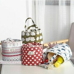 Portable Thermal Lunch Cooler Bag Insulated Ice Picnic Handbag Womens Student