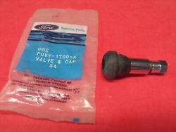 Nos 80s 90s Ford Truck Mustang Mercury Lincoln Chrome Valve Stem +cap F0vy-1700a