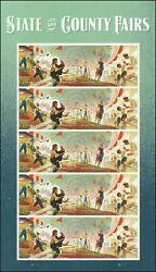 Us 5401-5404 5404a State And County Fairs Forever Sheet 20 Stamps Mnh 2019