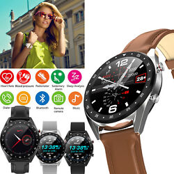 Luxury Life Waterproof Smart Watch Phone Call Text For Iphone X Xr Xs 11 Samsung