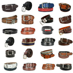 Wholesale Lot Men's Premium Leather Belt Assorted Styles And Sizes
