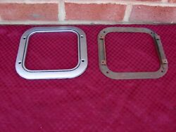 68-72 Chevelle Ss Bench Seat Non Console 4 Speed Shifter Boot Bezel And Retainer