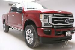 2020 Ford F-350  2020 Heated Leather Sunroof Navigation Bluetooth V8 Diesel Vernon Auto Group