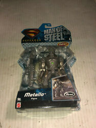 Mattel Superman Returns Man of Steel METALLO Action Figure NEW