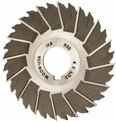 Made In Usa 4 Diam X 3/32 Thick Staggered Tooth Side Chip Saw 1 Arbor Hole...