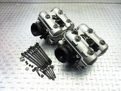 2003 03-07 Suzuki Sv1000s Sk3 Oem Cylinder Heads Front Rear Valve Covers Top