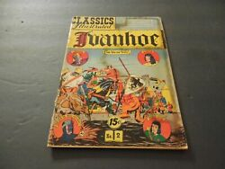 Classics Illustrated 2 Hrn 121 Early Silver Age Comic Book Ivanhoe   Id6899
