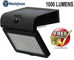 Westinghouse Linkable Solar Motion Activated 60 Led Outdoor Security Light New