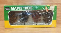 Vintage Life Like Products 01007 Collectible Maple Trees Scenery Display Read